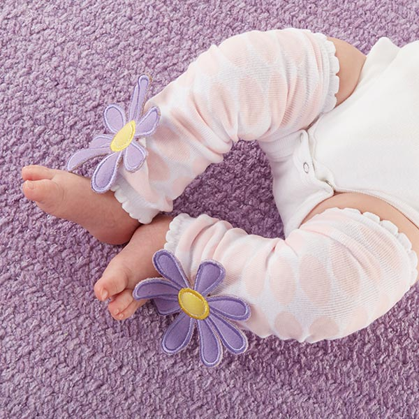 """""""Bloomin'"""" Legwarmers for Baby"""